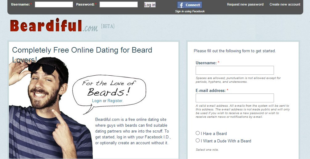 Dating for beard lovers